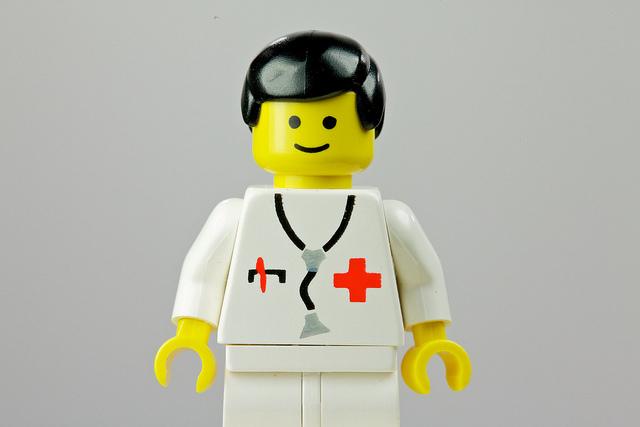 Lego Doctor of conventional medicine