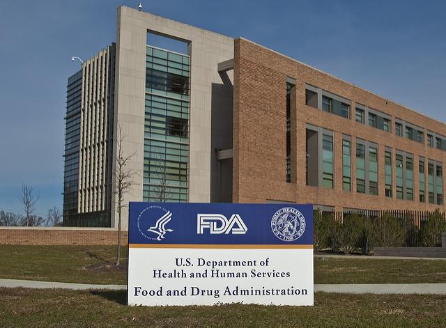 FDA Sign Building 21 by the US FDA